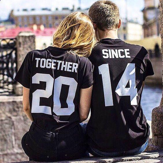 camisas estampadas para parejas