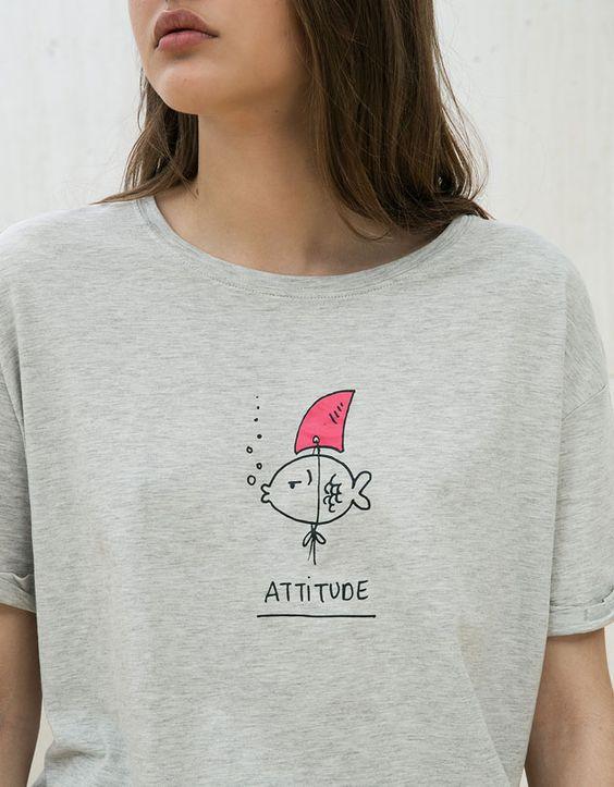 camisetas estampadas para mujer