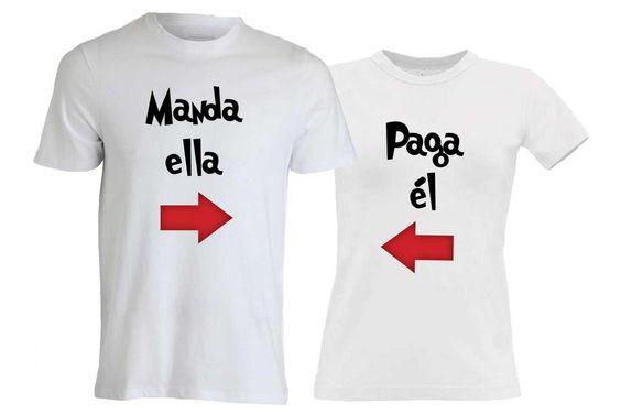 camisetas para parejas originales